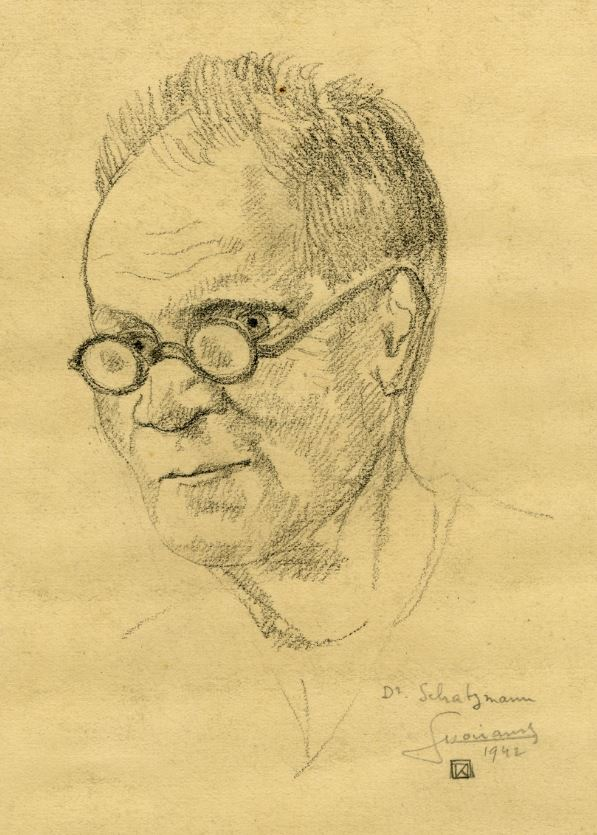Portrait du Dr Schatzman, 1942 © MDS / Coll. part.